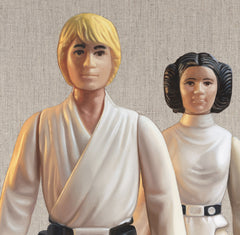 Luke Skywalker and Leia, Joe Simpson Alternate View