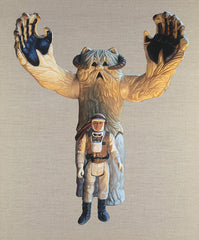 Luke Skywalker and Wampa, Joe Simpson