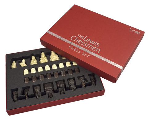 Lewis Chessmen Chess Set - Mid Sized, National Museum of Scotland - CultureLabel