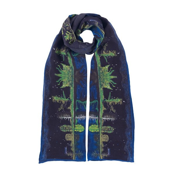 Milky Way Peter Doig Silk Scarf, National Galleries of Scotland - CultureLabel - 1