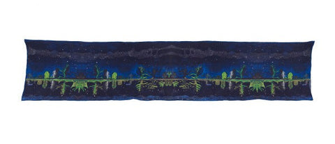 Milky Way Peter Doig Silk Scarf, National Galleries of Scotland Alternate View