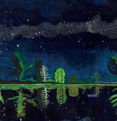 Milky Way Peter Doig Christmas Card Pack (10 cards), National Galleries of Scotland Alternate View