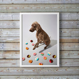 Indie Pup Art, Gillie and Marc - CultureLabel - 2 (framed and hung)