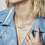 Positive Vibes Gold Necklace, Lee Renée - CultureLabel - 8