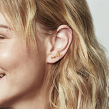 Smile - Diamond Single Slider Earring, Lee Renée - CultureLabel - 4