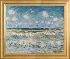 A Stormy Sea by Claude Monet 3d Reproduction, Verus Art