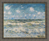 A Stormy Sea by Claude Monet 3d Reproduction, Versus Art - CultureLabel - 3