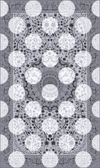 Monochrome Magic Rug, Mineheart Alternate View