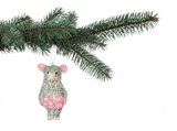 Arthur Mouse Christmas Tree Decoration, Jimbobart - CultureLabel - 2