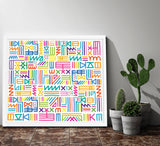 Multicolour Tribal, Kate Moross - CultureLabel - 2