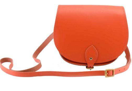 The Orange Saddle Bag, N
