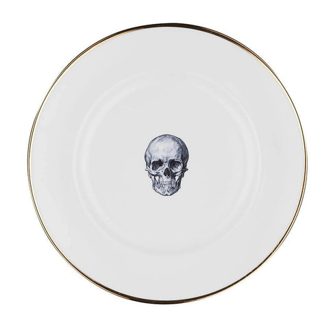 The Skull Bone China Plate | Melody Rose - CultureLabel