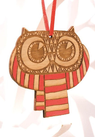 Owls in a Scarf Pair, Small Stories - CultureLabel