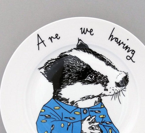 Are We Having Pancakes? Side Plate, Jimbobart