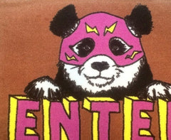 Enter Panda Welcome Doormat, Jimbobart Alternate View