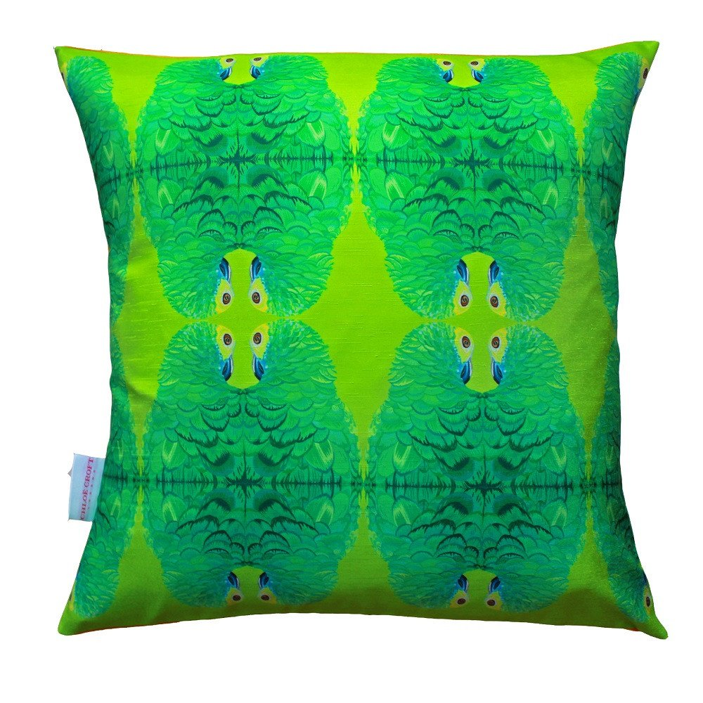 Parsons Parrots Cushion, Chloe Croft - CultureLabel