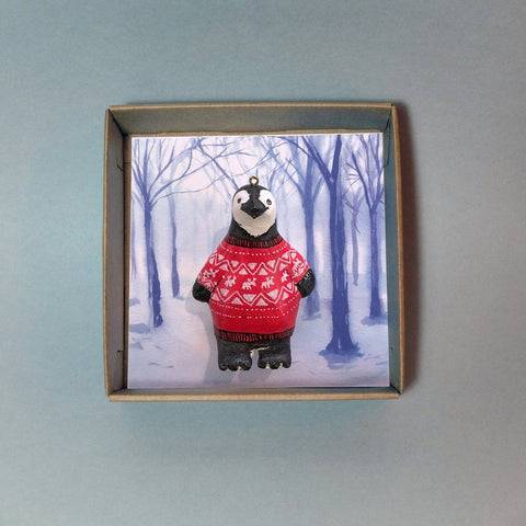 Phillip Penguin Christmas Tree Decoration, Jimbobart