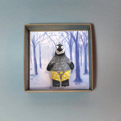 Samuel Penguin Christmas Tree Decoration, Jimbobart