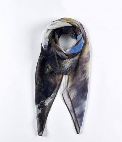 Wandering Shadows Peter Graham Silk Scarf, National Galleries of Scotland - CultureLabel - 1