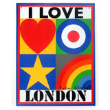 I Love London, Peter Blake - CultureLabel - 1