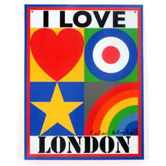 I Love London, Peter Blake