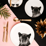 Peering Panther Dinner Plate, Abi Overland Jersey - CultureLabel - 3