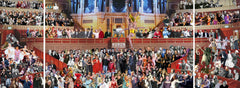 Appearing at the Royal Albert Hall, Sir Peter Blake