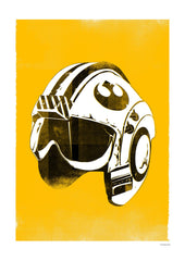 Star Wars Helmet - Red Five (Framed), The Designers Nursery Alternate View