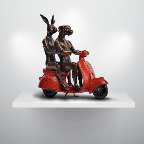 They rode the red vespa and romance followed, Gillie and Marc - CultureLabel - 1