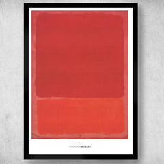 Red (Orange), Mark Rothko Alternate View