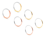 Two Tone Stacking Ring, Myia Bonner