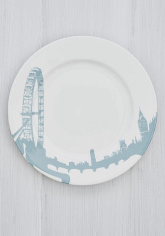 London Eye Charger Plate, Snowden Flood - CultureLabel