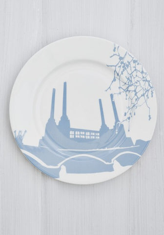 Battersea Power Station Charger Plate, Snowden Flood - CultureLabel