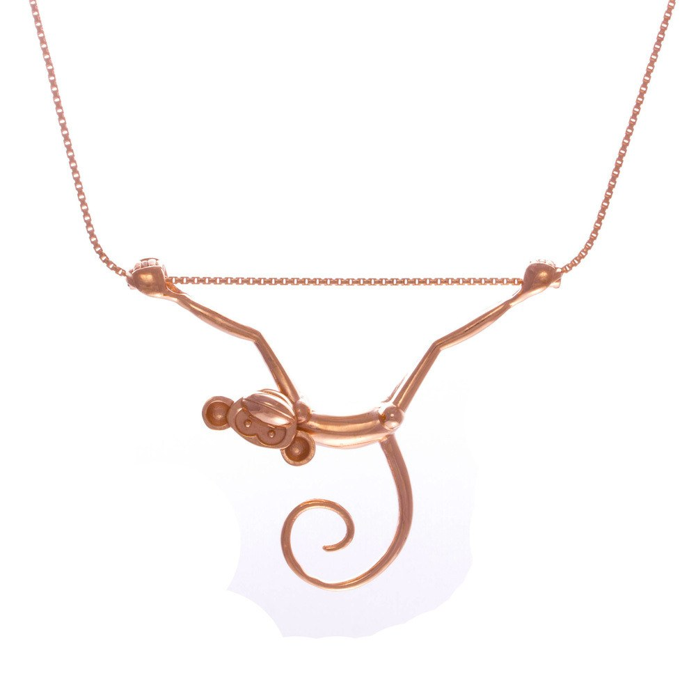 Toy Monkey Necklace, Lee Renée - CultureLabel - 1