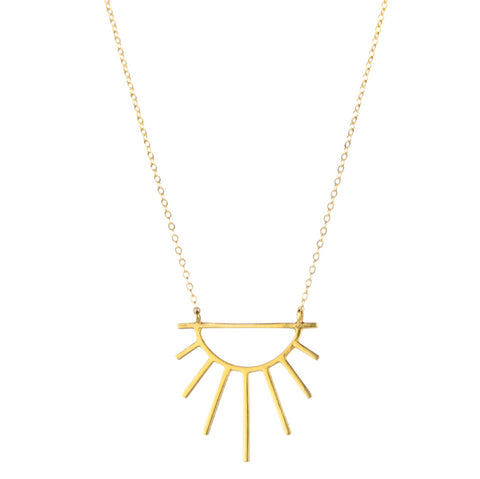 Sunburst Necklace, Marcia Vidal - CultureLabel