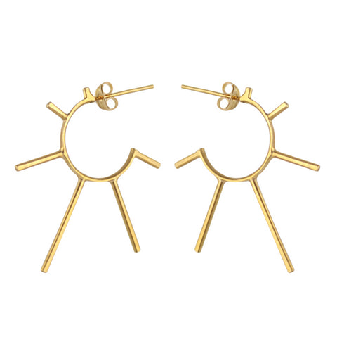 Light Punk Sunshine Hoops, Marcia Vidal - CultureLabel