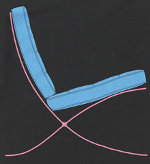 Black T-Shirt, Michael Craig Martin Alternate View