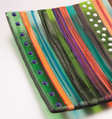 Hockney Inspired Spring Glass Dish, Royal Academy of Arts