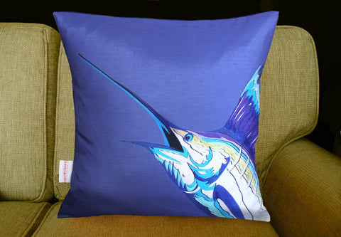 Sailfish Cushion, Chloe Croft Alternate View