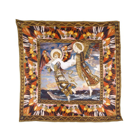 Saint Bride John Duncan Silk Scarf, National Galleries of Scotland