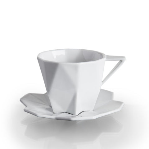 Lilia Tea Cup and Saucer, Lauriger - CultureLabel - 1