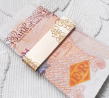 Brass Orchids MoneyClip, Sally Lees - CultureLabel - 2