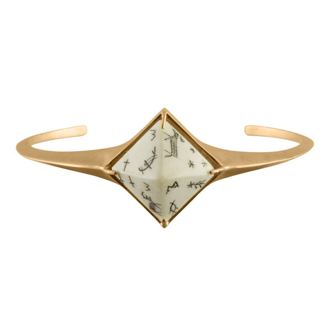 Sami Reindeer Pyramid Bangle, No 13