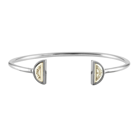 Sami Sun & Moon Bangle, No 13