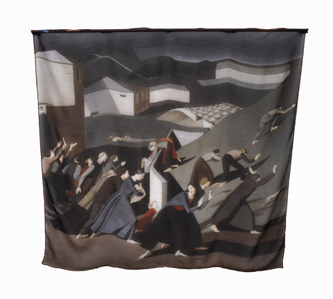 The Deluge Silk Scarf, Dulwich Picture Gallery Alternate View