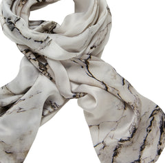 Marble Print Silk Scarf, The National Gallery Alternate View