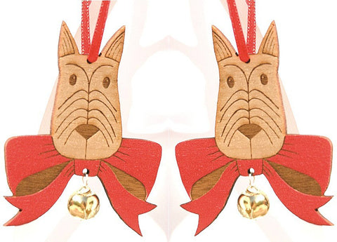 Scottie Dog Pair, Small Stories