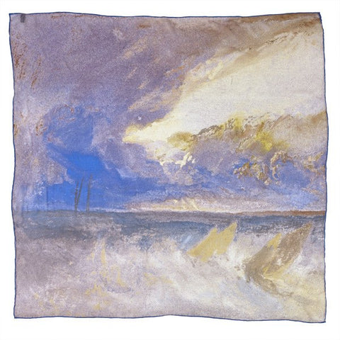 Sea View Joseph Mallord William Turner Silk Scarf, National Galleries of Scotland Alternate View