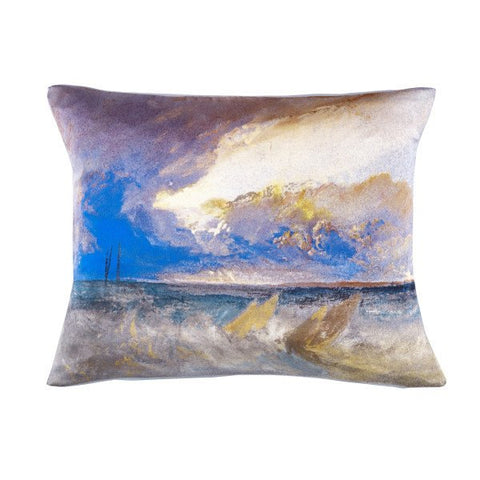 Sea View Joseph Mallord William Turner Silk Cushion, National Galleries of Scotland - CultureLabel