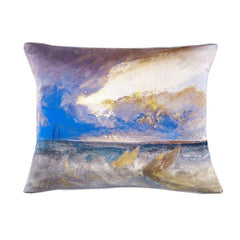 Sea View Joseph Mallord William Turner Silk Cushion, National Galleries of Scotland